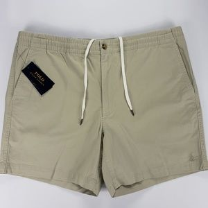 POLO RALPH LAUREN XL STRETCH FIT SHORTS NWT STONE
